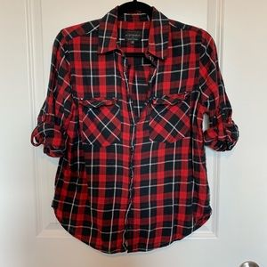 Cotton On plaid buttoned shirt
